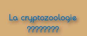 cryptozoologie
